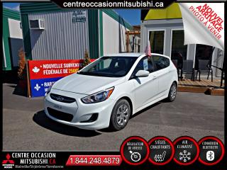 Used 2016 Hyundai Accent GL CLIMATISATION + SIEGES-CHAUFFANTS for sale in Blainville, QC
