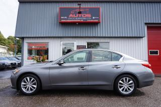Used 2015 Infiniti Q50 AWD 3.7 AUTO FULL CUIR TOIT GPS CAMERA 64 734 KM for sale in Lévis, QC