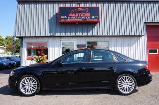 Used 2015 Audi A4 KOMFORT PLUS + S-LINE 6 VITESSES CUIR TOIT 82 687 for sale in Lévis, QC