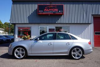 Used 2015 Audi A4 PROGRESSIV PLUS + S-LINE + GPS NAV TOIT CUIR XÉNON for sale in Lévis, QC