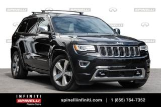 Used 2016 Jeep Grand Cherokee OVERLAND/SUNROOF/GPS/HEATED SEATS/LEATHER FAUT VOIR for sale in Montréal, QC
