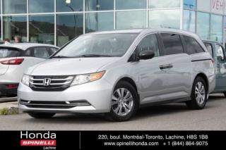 Used 2014 Honda Odyssey SE 8 PASSAGERS BAS KM 8 PASSAGERS MAGS BLUETOOTH for sale in Lachine, QC