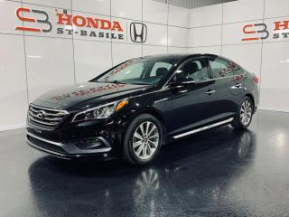 Used 2016 Hyundai Sonata SPORT TECH + BLUETOOTH + NAVI + TOIT + W for sale in St-Basile-le-Grand, QC
