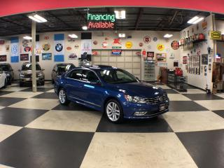 Used 2016 Volkswagen Passat 1.8 TSI HIGHLINE AUT0 NAVI LEATHER SUNROOF CAMERA 72K for sale in North York, ON