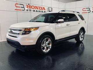 Used 2014 Ford Explorer LIMITED + AWD + BAS KILO + NAVI + TOIT + for sale in St-Basile-le-Grand, QC