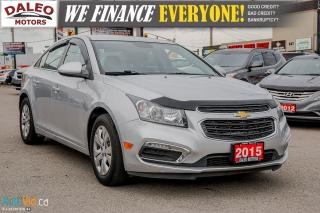 Used 2015 Chevrolet Cruze 1LT | BACKUP CAM | VOICE COMM | SIRIUS XM | for sale in Hamilton, ON