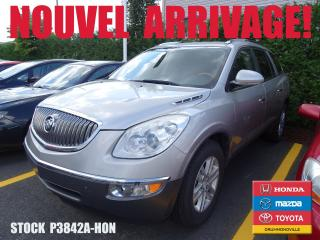 Used 2008 Buick Enclave CX+CUIR+SIEGCHAUFF+MAG+A/C for sale in Drummondville, QC