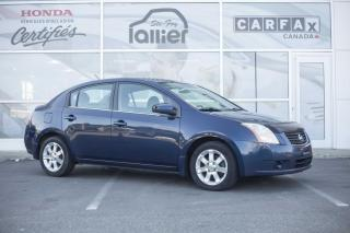 Used 2008 Nissan Sentra I4 ***JAMAIS ACCIDENTE*** for sale in Québec, QC