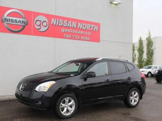 Used 2008 Nissan Rogue SL/AWD/ONE OWNER/LEATHER/SUNROOF/HEATED SEATS for sale in Edmonton, AB