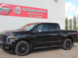 Used 2019 Nissan Titan SV Midnight Edition/CREW CAB/4X4 for sale in Edmonton, AB