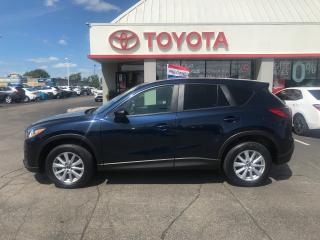 Used 2016 Mazda CX-5 GS auto alloys in blue pearl cx5 for sale in Cambridge, ON