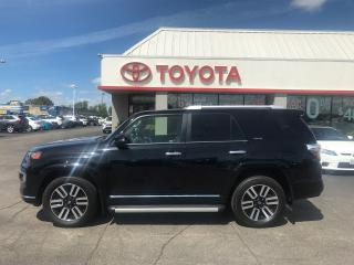Used 2017 Toyota 4Runner Limited navigation leather moonroof alloys p.sears for sale in Cambridge, ON