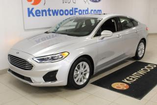 Used 2019 Ford Fusion Hybrid 3 months Deferral *oac | SEL | FWD | Hybrid | Sunroof | for sale in Edmonton, AB