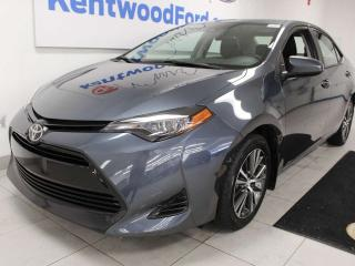 Used 2019 Toyota Corolla LE FWD with a sunroof, heated seats and a back up cam for sale in Edmonton, AB