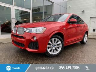 Used 2015 BMW X4 xDrive35i M SPORT LEATHER SUNROOF NAV for sale in Edmonton, AB
