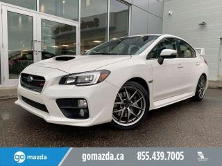 Used 2017 Subaru WRX STI SPORT TECH GREAT SHAPE FUN CAR for sale in Edmonton, AB