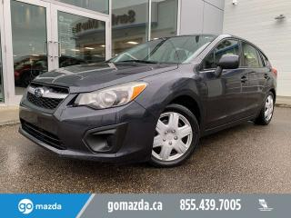 Used 2013 Subaru Impreza 2.0I HATCH AWD POWER OPTIONS 2 TIRES for sale in Edmonton, AB