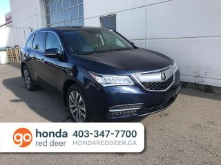 Used 2014 Acura MDX NAV PACKAGE AWD Sunroof Navigation for sale in Red Deer, AB