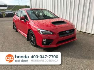 Used 2016 Subaru WRX Limited AWD Sunroof Back Up Cam for sale in Red Deer, AB