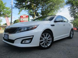 Used 2015 Kia Optima EX Luxury-AUTO-LETHER-CAMERA-BLTOOTH-HEATED-ALLOY for sale in Scarborough, ON