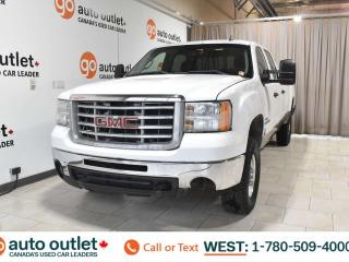 Used 2008 GMC Sierra 2500 HD DURAMAX DIESEL 6.6L V8, Long box, Crew cab, Cloth seats, Tow package for sale in Edmonton, AB