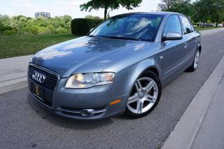 Used 2006 Audi A4 3.2 / NO ACCIDENTS / LOCALLY OWNED for sale in Etobicoke, ON