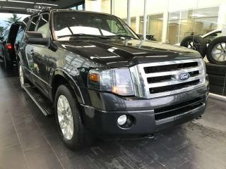 Used 2014 Ford Expedition LIMITED 4WD, POWER HEATED/VENTED LEATHER SEATS, SUNROOF, BACK-UP CAMERA for sale in Edmonton, AB