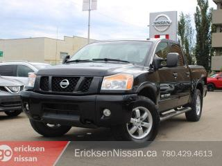 Used 2012 Nissan Titan Pro-4X l Leather l Roof l Loaded for sale in Edmonton, AB