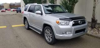 Used 2012 Toyota 4Runner SR5; NAV, 7PASS LEATHER, BACKUP CAM, HEATED SEATS, SUNROOF AND MORE for sale in Edmonton, AB