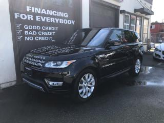 Used 2016 Land Rover Range Rover Sport TDV6 HSE DIESEL for sale in Abbotsford, BC