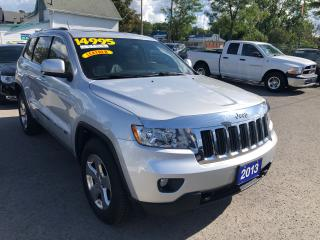 Used 2013 Jeep Grand Cherokee Laredo, 4X4,Leather,Navigation.Sunroof for sale in St Catharines, ON