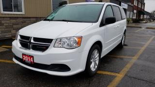 Used 2014 Dodge Grand Caravan SXT-DVD-DUAL AIR/HEAT-BACK UP CAMERA-STO-N-GO for sale in Tilbury, ON