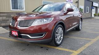 Used 2016 Lincoln MKX Reserve-360 CAMERA-PAN ROOF-NAVIGATION-SYNC for sale in Tilbury, ON