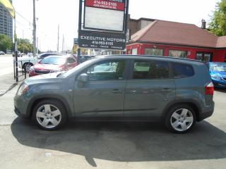 Used 2012 Chevrolet Orlando 2LT/ LOW KM / ONE OWNER / CERTIFIED / SUNROOF / for sale in Scarborough, ON