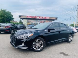 Used 2018 Hyundai Sonata LIMITED|LEATHER|PANOROOF|NAVI|WIRELESSCHARGER for sale in Mississauga, ON