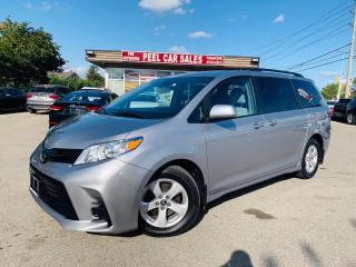 Used 2018 Toyota Sienna LE 7-Passenger Mobility|CERTIFIED BLUETOOTH|BACKUP CAMERA|KEYLESS ENTRY|TRACTION CONTROL. for sale in Mississauga, ON