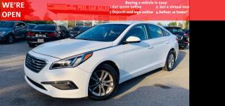 Used 2016 Hyundai Sonata SE 2.4L GL VIDEO.CALL.US  BLUETOOTH BACKUP CAMERA HEATED MIRRORS HEATED SEATS PANORAMIC ROOF for sale in Mississauga, ON