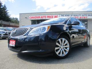 Used 2015 Buick Verano Convenience- 4dr -CAMERA-LTHER-BLUETOOTH-HEATED for sale in Scarborough, ON