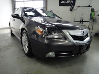 Used 2009 Acura RL ELITE PKG,AWD,FULLY LOADED,NAVI for sale in North York, ON