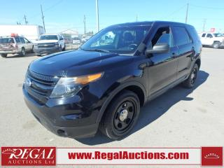 Used 2015 Ford Explorer Police 4D Utility AWD for sale in Calgary, AB