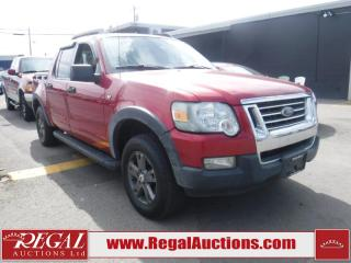 Used 2007 Ford Explorer Sport Trac XLT 4D Utility 4WD for sale in Calgary, AB