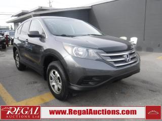 Used 2012 Honda CR-V LX 4D Utility 4WD for sale in Calgary, AB