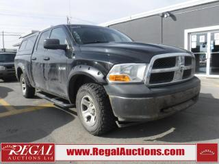 Used 2009 Dodge Ram 1500 4D Quad CAB 4WD for sale in Calgary, AB