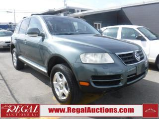 Used 2005 Volkswagen Touareg 4D Utility 4WD for sale in Calgary, AB