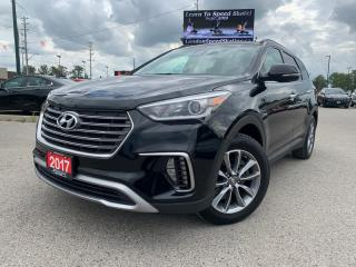 Used 2017 Hyundai Santa Fe * AWD * Leather * 7 Passenger * Backup Camera * Heated Seats * Apple CAR Play * Android Auto * for sale in London, ON