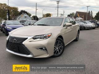 Used 2017 Lexus ES 350 FLAXEN LEATHER NAVI BLIS ADAPTIVE CRUISE for sale in Ottawa, ON