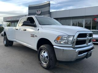 Used 2018 RAM 3500 SLT 4WD LONG BOX DUALLY DIESEL REAR CAMERA 31KM for sale in Langley, BC
