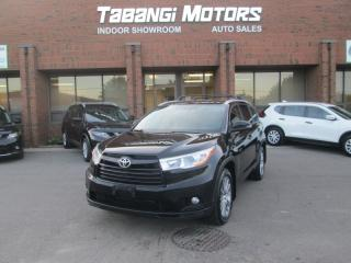 Used 2015 Toyota Highlander XLE NO ACCIDENTS NAVIGATION REARCAM LEATHER SUNROOF BT for sale in Mississauga, ON