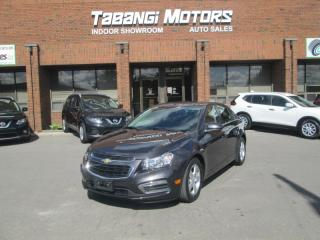 Used 2015 Chevrolet Cruze 2LT NO ACCIDENTS LEATHER SUNROOF REARCAM HEATED SEATS BT for sale in Mississauga, ON