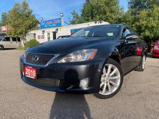 Used 2010 Lexus IS 250 4dr Sdn Auto AWD |ACCIDENT FREE| AMAZING CONDITION| for sale in Brampton, ON